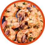 Chilli Lime Honey Glazed Prawns