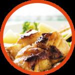 Easy Fish Kebab