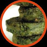 Chicken Spinach Kebab