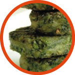 Chicken Spinach Kebab